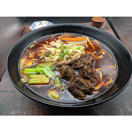 Braised Beef Noodle Soup (Spicy) 紅燒牛肉麵 🌶