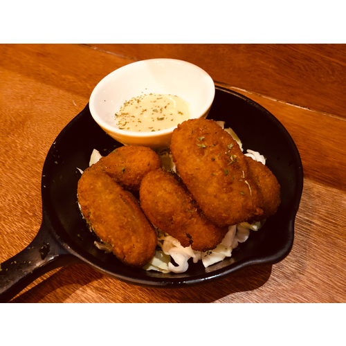 Cream Cheese Jalapeno Poppers (6 pcs) 炸墨西哥辣椒包起司