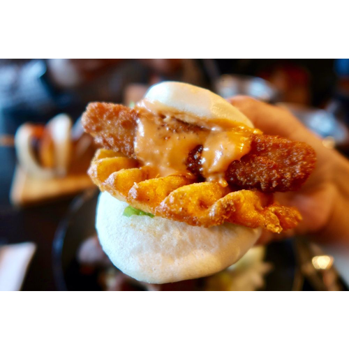 Deep Fried Fish Gua Bao - Alaskan Pollock 炸魚刈包