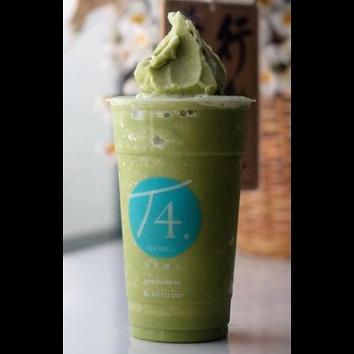 Matcha Avocado Milkshake