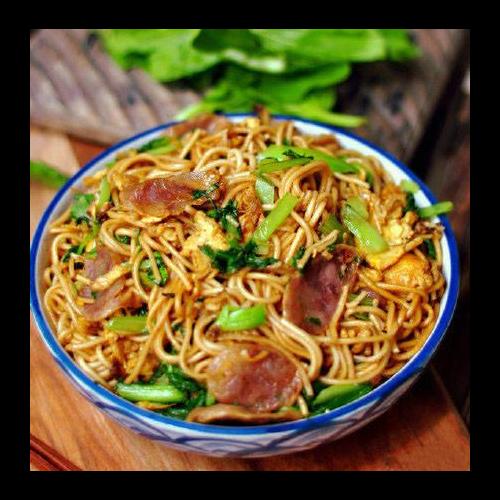 N8. Chengdu Chow Mein Ⓥ 成都炒麵 (選:雞肉/牛肉/蔬菜)