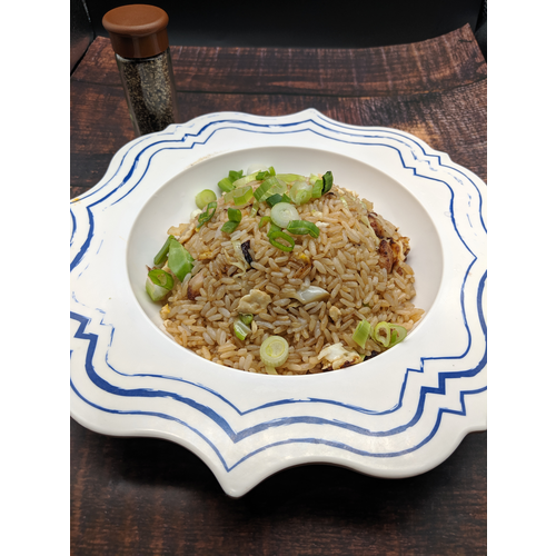 Soy Sauce Fried Rice 醬油炒飯