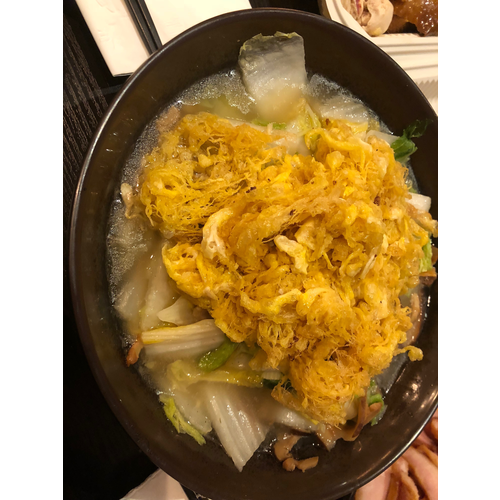 Napa Cabbage Stew 白菜滷