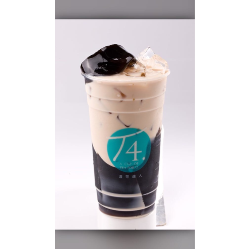 T2. Grass Jelly Milk Tea
