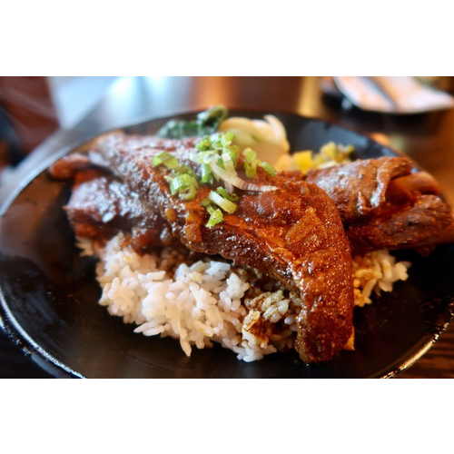 Pork Ribs over Rice 豬肋排蓋飯
