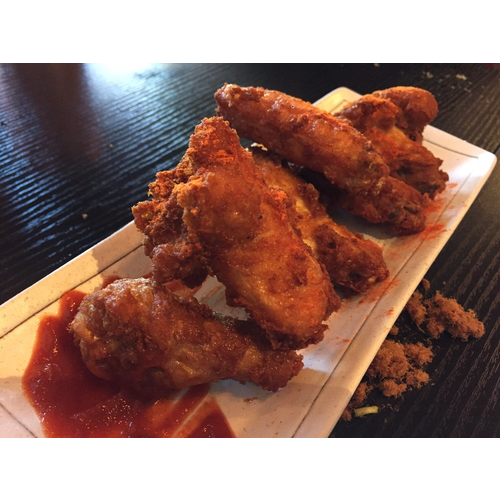 Fried Spicy Chicken Wings (6 pcs) 炸辣雞翅